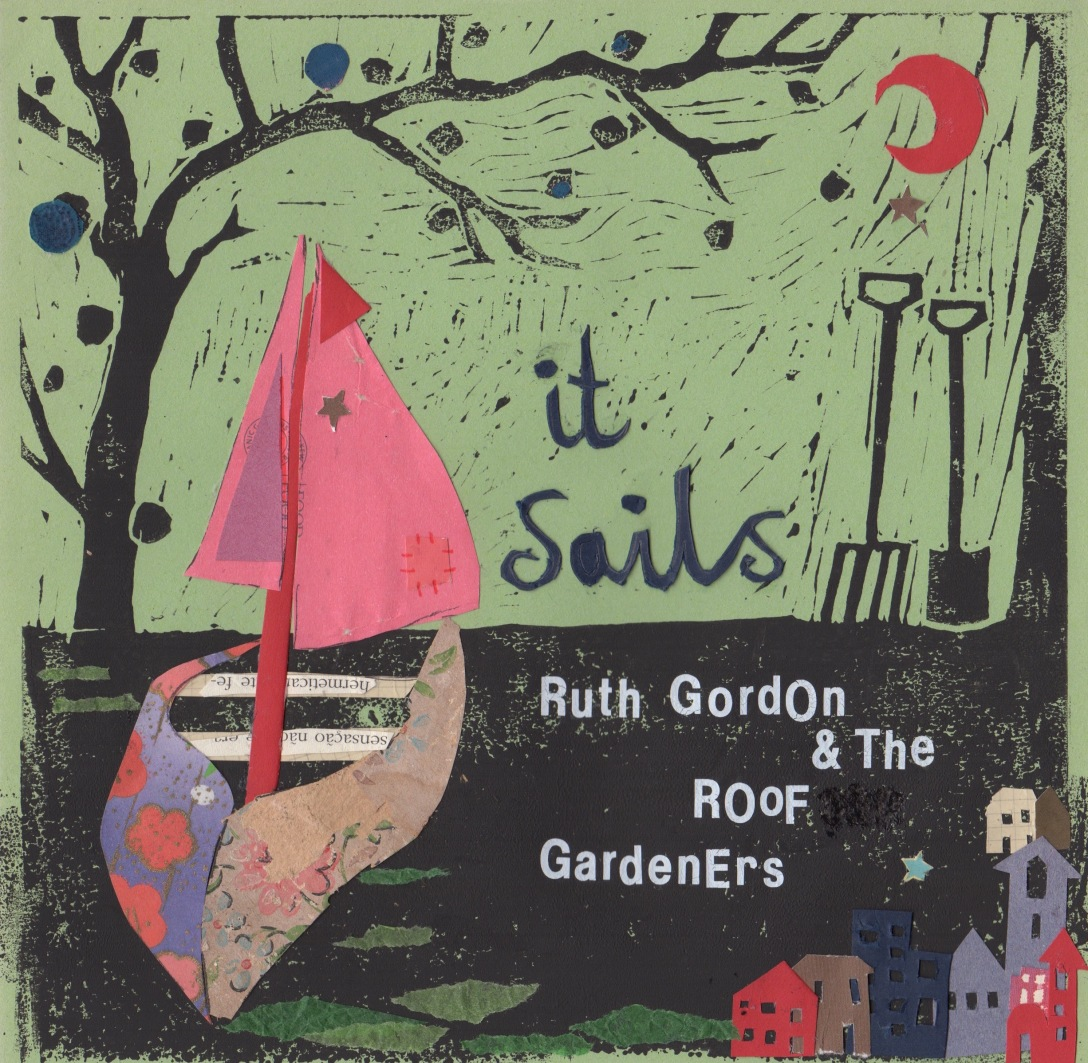 Front Cover for 'It Sails'. Artwork by Rose Codner.